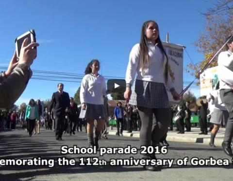 Presentación video Complejo Educacional Andrés Antonio Gorbea, de Gorbea, Novena Región, Chile