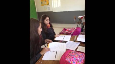 Presentación alumnos Papudo